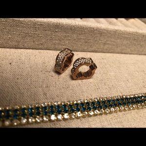 Henri Bendel Rose Gold Earrings